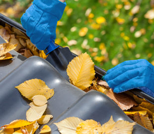 best time to Clean your gutters